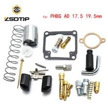 ZSDTRP Vergaser PHBG AD 17,5mm 19,5mm Reparatur Kit für Dellorto PHBG Motorrad Ersatzteile Zubehör