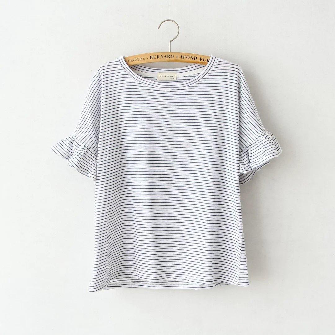 Casual Print Fashion T Shirt Women Girl's T-shirts Summer Tshirt