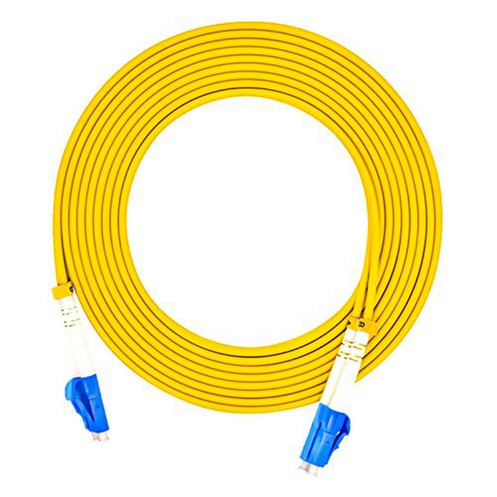 cabo de cabo de remendo de fibra optica de 45 medidores lc pc lc pc diametro de 30mm