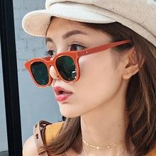 Fashion Brand Designer Square Sunglasses 2020 Men Women Luxury Mirror Sun Glasses Classic Retro Fema