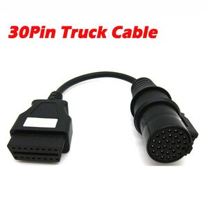Image 1 - 30 контактный переходник для грузового кабеля для дизельных автомобилей Iveco, OBD коннектор, удлинитель для TCS 30 контактного OBD2, гнездовой 16 контактный сканер