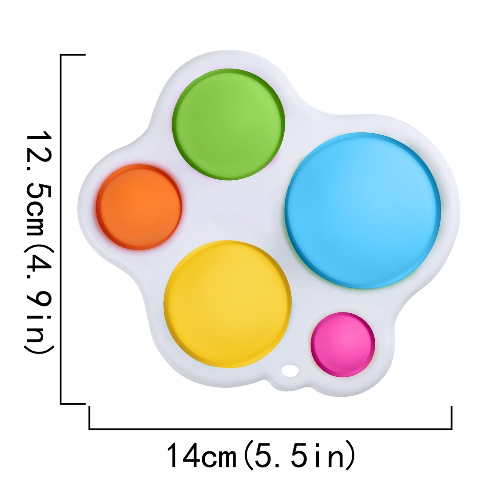 2021 Fidget Toys Infant Early Education Intelligence Development And Intensive Training Toys Baby Simpel Dimpel Sensory Toys W* enlarge