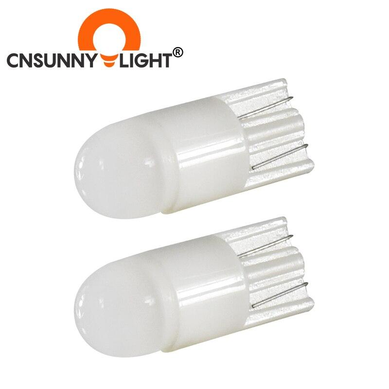 CNSUNNYLIGHT 2 uds T10 W5W WY5W 3D LED cuña de coche estacionamiento matrícula luz indicadora lectura giro bombilla lateral 168 194 Auto lámpara