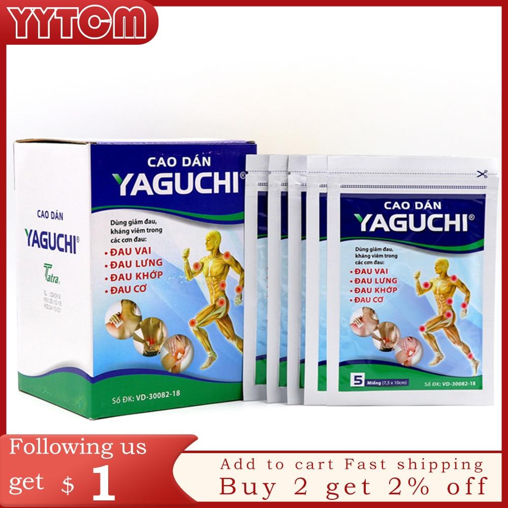 Vietnam yaguchi Patch Meridians Lumbar Pain Relief Back/Neck Muscular Pain relieving Health Care Healthcare