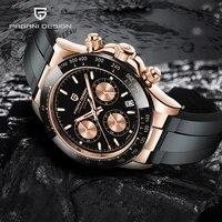 pagani design mens quartz watches automatic date luxury gold wristwatch men waterproof chronograph japan vk63 business men clock