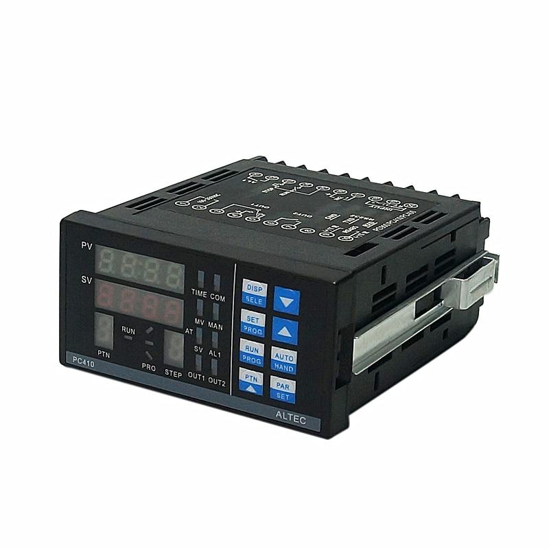 ALTEC PC410 Panel Controlador de temperatura tipo K termopar versión industrial 1400...