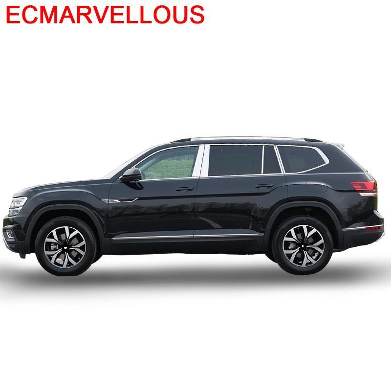 Protector decorativo para coche, ventana, cuerpo, parachoques delantero, coche modificado, estilo 17 18 19 para Volkswagen Teramont