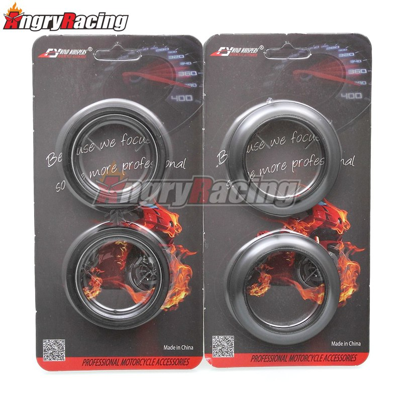 Sujeira da motocicleta forquilha dianteira óleo selo capa de poeira para honda crf crf250l 250 l ld rda rl rla rld 12-19 xr400r xr 400 r 96-06