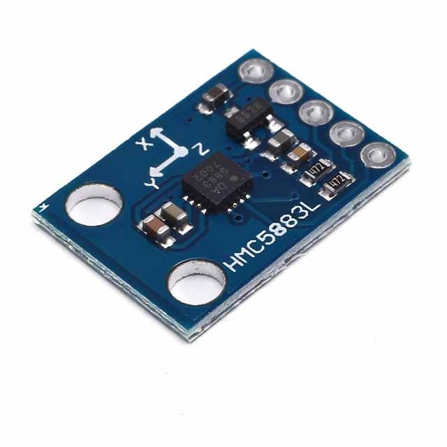 A5. GY-273 3V-5V HMC5883L eje Triple brújula Módulo Sensor magnetómetro