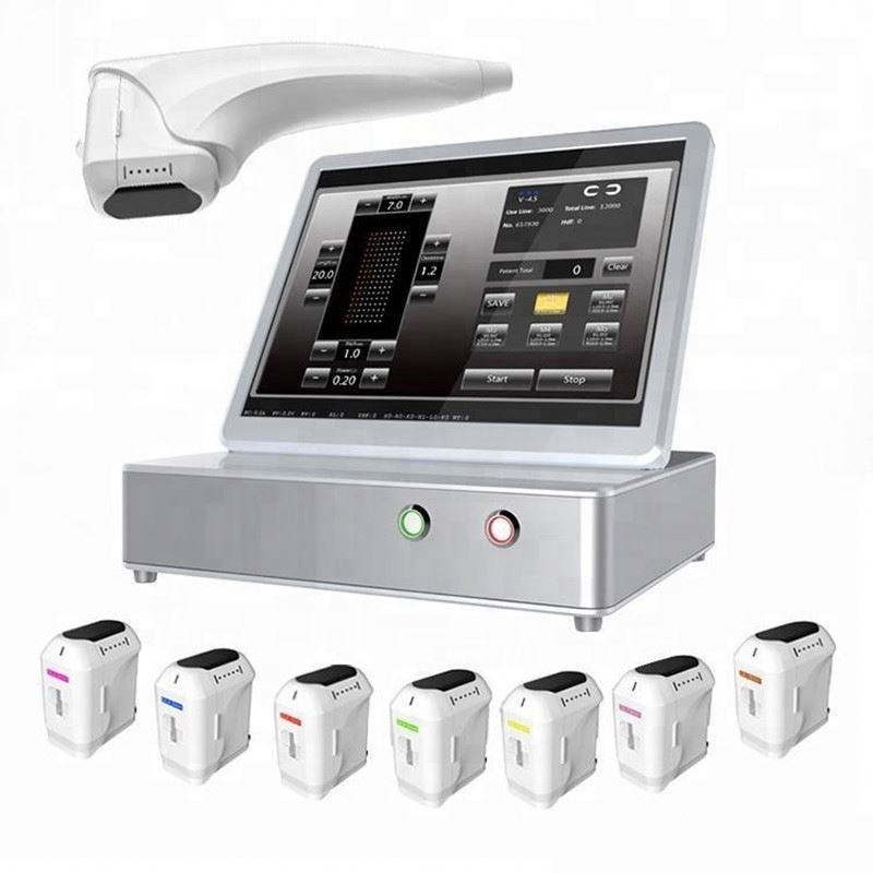 Купить с кэшбэком 12Lines Anti-Wrinkle Device Face Lift Body Slimming Machine For Clinic Use Intensity Focused Ultrasound 8 Cartridges With CE