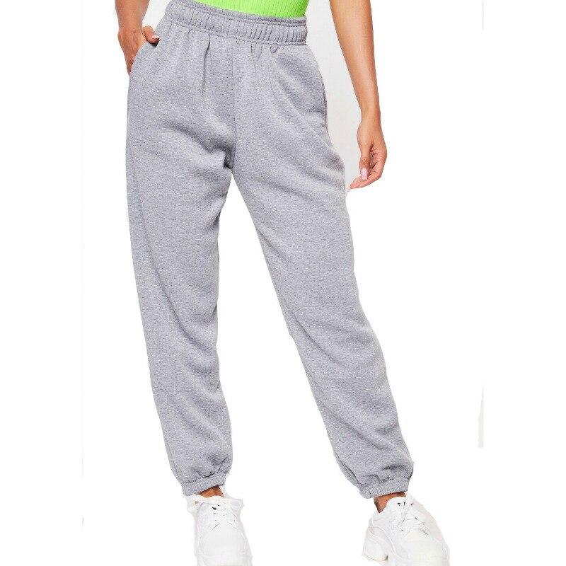 Женские повседневные спортивные штаны, спортивный костюм, штаны-шаровары для танцев, Модные свободные брюки в уличном стиле, K-POP