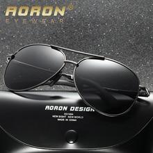 AORON Classic Pilot Driving Sun Glasses Metal Frame Mirror Lens New Polarized Men Sunglasses  Sunglasses Men/Women 8013
