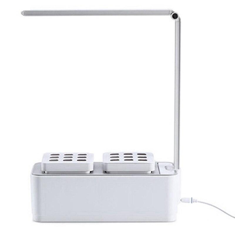 Inteligente de Kit de jardín Led 000 ligera crecimiento hidroponía multifunción lámpara de mesa de jardín tienda de campaña crecimiento caja (
