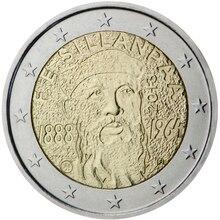 Finlande 2013 Euro 2 vraies pièces dorigine Collection Euro vraie pièce commémorative Unc