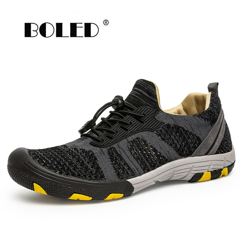 Plus Size Comfort Men Shoes Casual Mesh Breathable Flats Outdoor Male Sneakers Walking