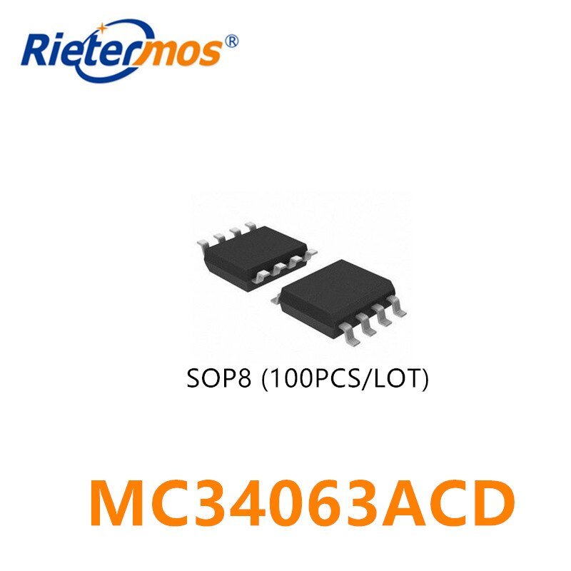 100PCS MC34063ACD 063AC SOP8 ORIGINAL