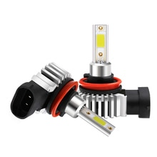CNSUNNYLIGHT H7 H11 H8 H1 881 Turbo LED Car Fog Lights 72W 8000LM 3000K 6000K H3 9005 9006 Cooling Fan Led Headlight Bulbs Lamps