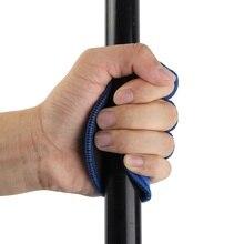 Unisexe anti-dérapant musculation gants entraînement Fitness Sport haltère Grip Pad Gym entraînement main paume doigts protéger