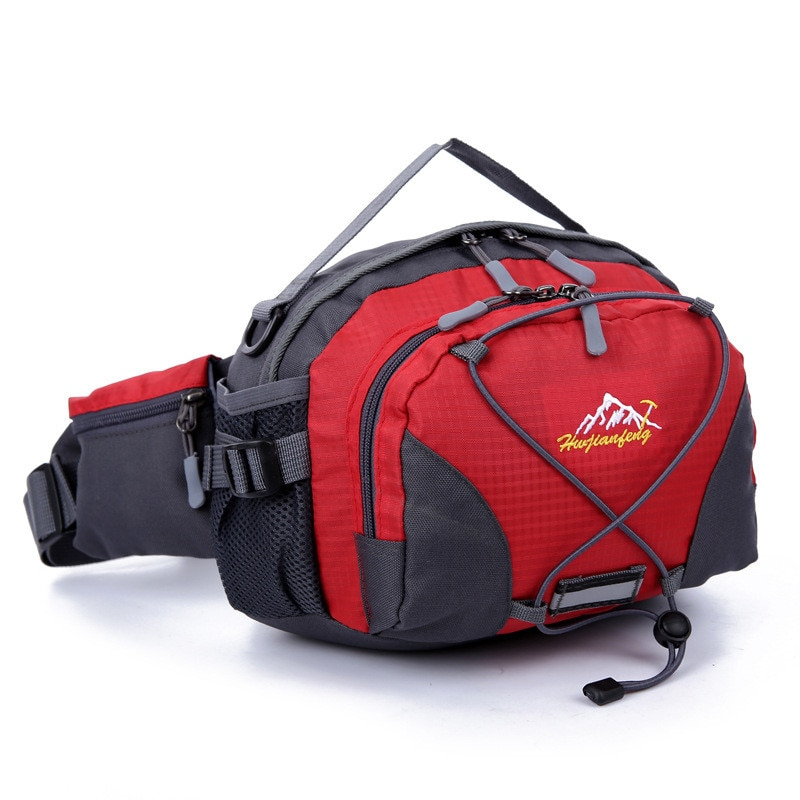 Gym Bag Unisex Fishing Outdoor Fanny Pack Bag Waist Purse Pouch Pocket Travel Running Sport Bag High Quality Waterproof New #e