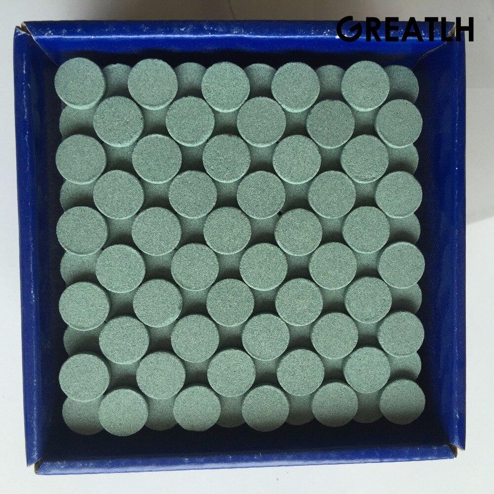 100 Uds Dental cerámica de grava gruesa 2,35mm FG pulidor de fresas Dental pulido de dientes