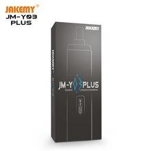 JAKEMY 2020 Newest43 en 1 ménage Portable Mini sans fil précision Rechargeable électrique tournevis ensemble avec lumière LED JM-Y03