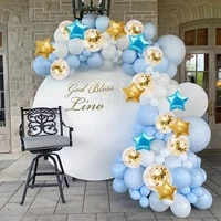 122pcs balloon garland confetti ballon birthday party decor kids wedding birthday decor star foil baloon baby shower boy girl