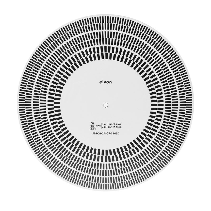 LP Vinyl Record Turntable Phono Tachometer Calibration Strobe Disc Stroboscope Mat 33 45 78 RPM S19 19 Dropship