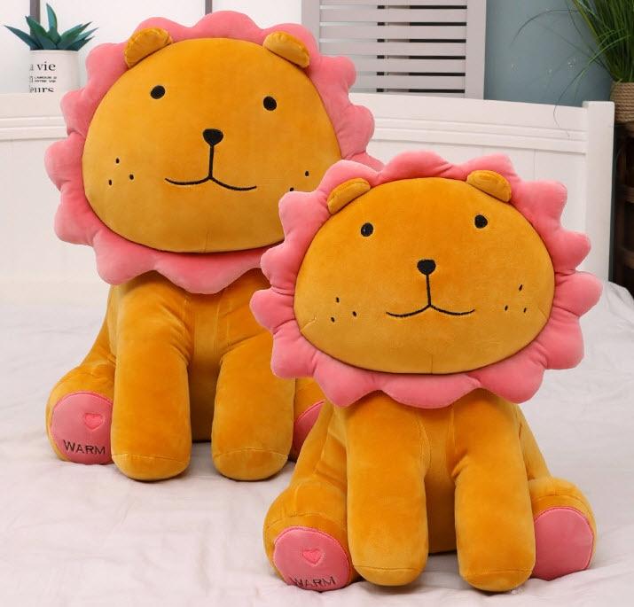 40 см креативная мультяшная игрушка Подсолнух Лев плюшевый Лев мягкая подушка Лев игрушка кукла для детей