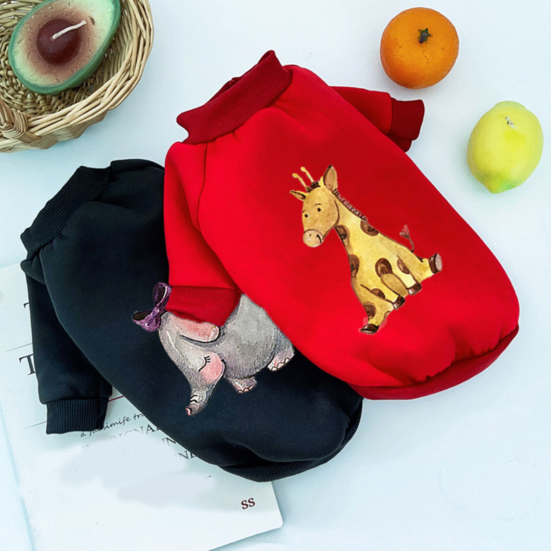 New Warm Pet Clothes Sweater for Cats Winter Clothes for Dog Jacket Cute Puppy Clothes Cat Jacket Dog Hoodie Sweater for Dogs