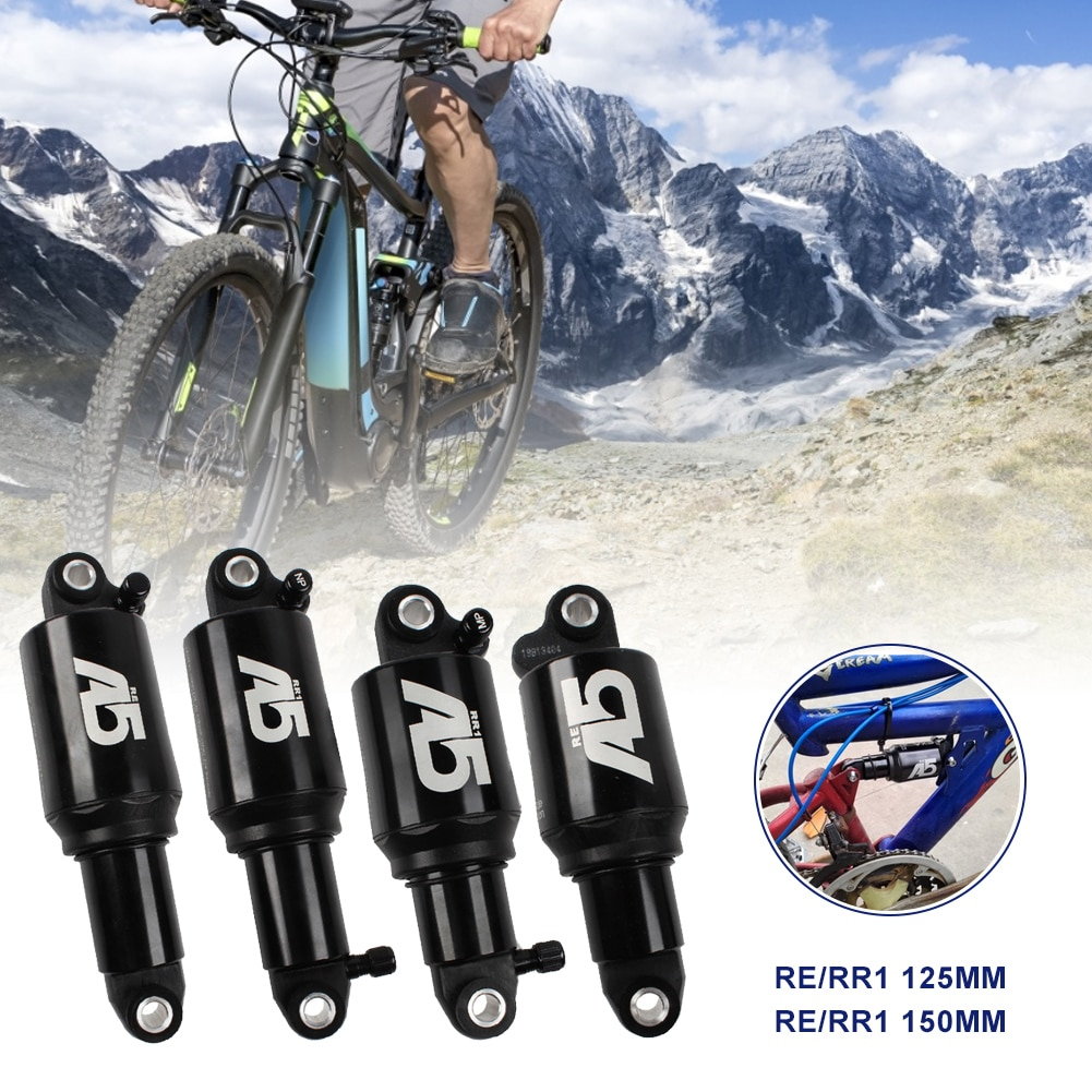 A5 RE RR1 Air Rear Shock Double Single Air Chamber Rear Shock Absorber For MTB Bicycle 125/150mm Bicycle parts Free Shipping