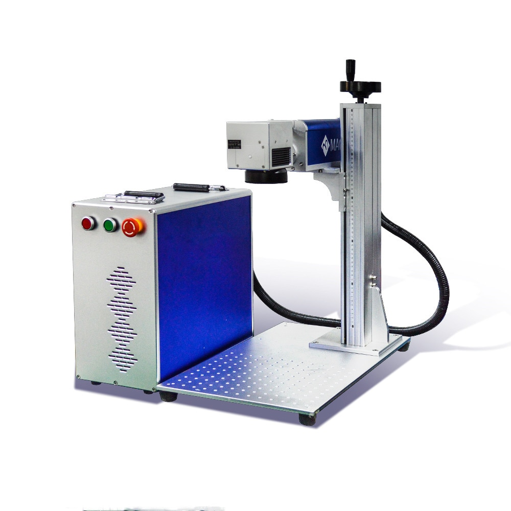 Hot Pick 3D dynamic color, Low Shipping Raycus fiber laser marker laser marking machine ipg source for metal and plastic enlarge