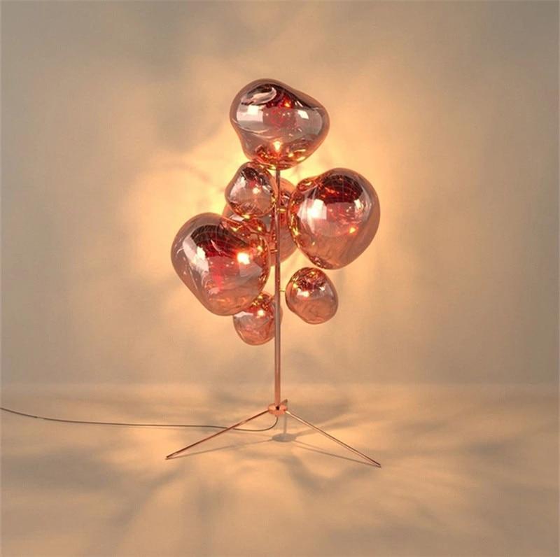 مصباح أرضي LED حديث من الحمم البركانية ، عاكس الضوء ، 3 ألوان ، فن ، فندق ، قاعة ، غرفة معيشة ، غرفة نوم ، ديكور منزلي ، FA002