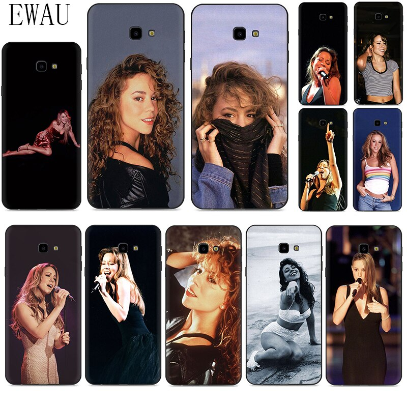 Funda de silicona para Samsung A2 Core A20E A70s J4 J6 Plus primer J7 DUO J8 cantante Mariah Carey