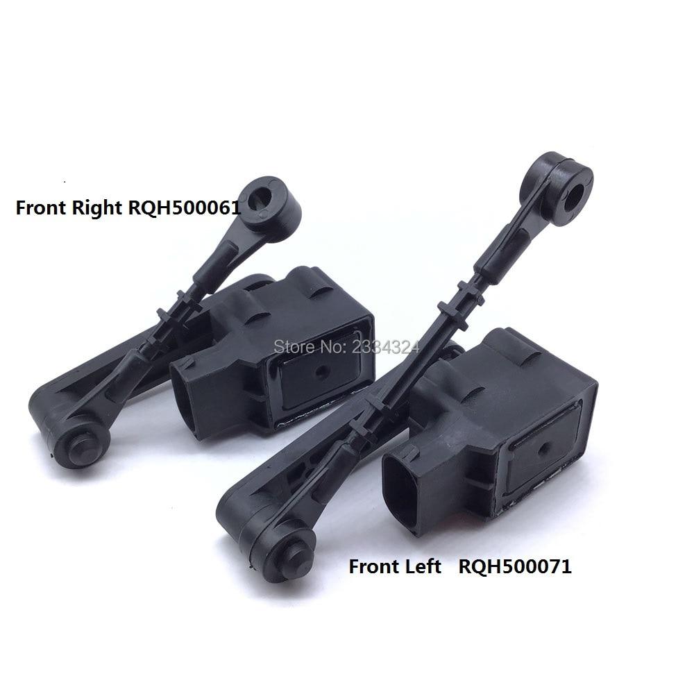 Передний правый и левый датчик высоты пневматической подвески для Land Rover LR3 Discovery 3 LR019136 LR019137 RQH500061 RQH500071