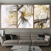 abstract golden sun canvas painting landscape wall pictures big posters prints fashion living room art decoration pendant