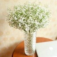 10 pieces Gypsophile Floral Fleur Faux Soie Mariage Fete Bouquet Decor A La Maison Fleurs Artificielles BRICOLAGE Bouquets Floraux Fleurs En Plastique