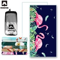 beach towel flamingo microfiber towel quick dry absorb gym towel bath travel portable sport towels