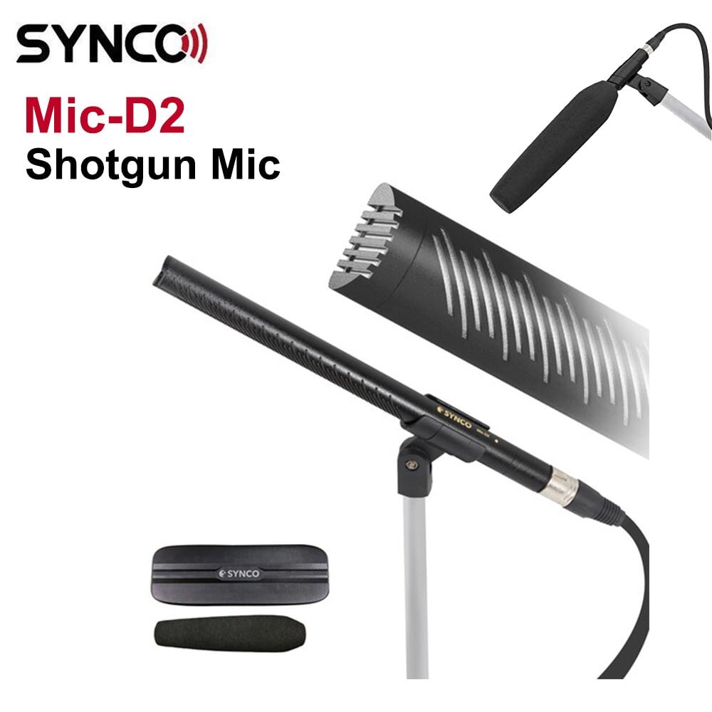 Synco Mic-D2 المهنية مكثف hyperheart oid بث ميكروفون استجابة تردد مسطحة جدا منخفضة للغاية الذاتي الضوضاء