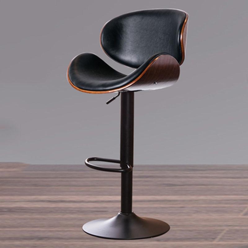 كرسي طويل الساق الحديثة بسيطة المنزل الخلفي مقعد مرتفع بار مقهى الحليب الشاي متجر كرسي مكتب الجبهة كرسي