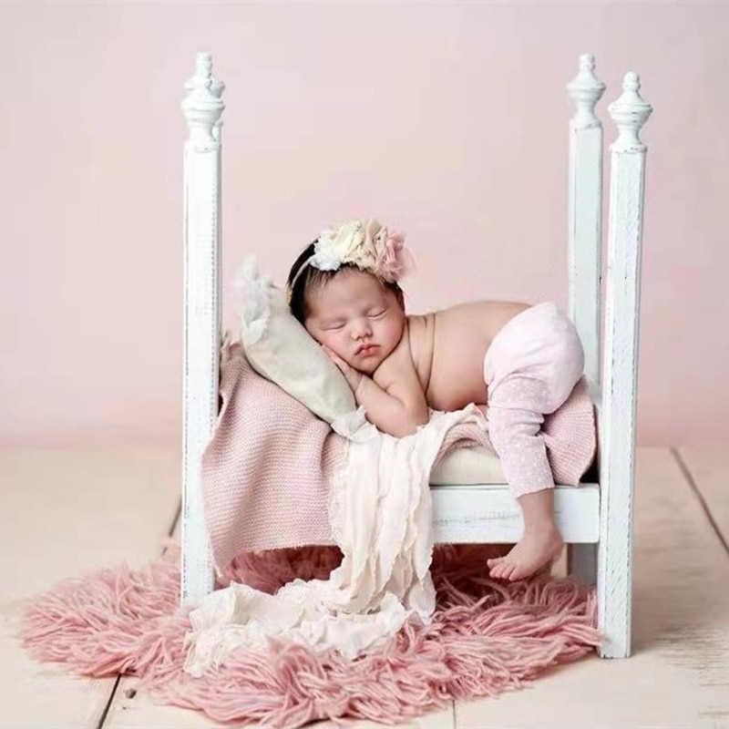Newborn Photography Infant Photo Bed Baby Girl Photo Posing Container Detachable Background Props Baby Photography Accessories enlarge