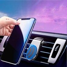 Support universel de téléphone de voiture magnétique en métal pour Honda Accord 7 Dio 35 ZX AF18 Civic 2019 2020 HRV CRV support de téléphone portable
