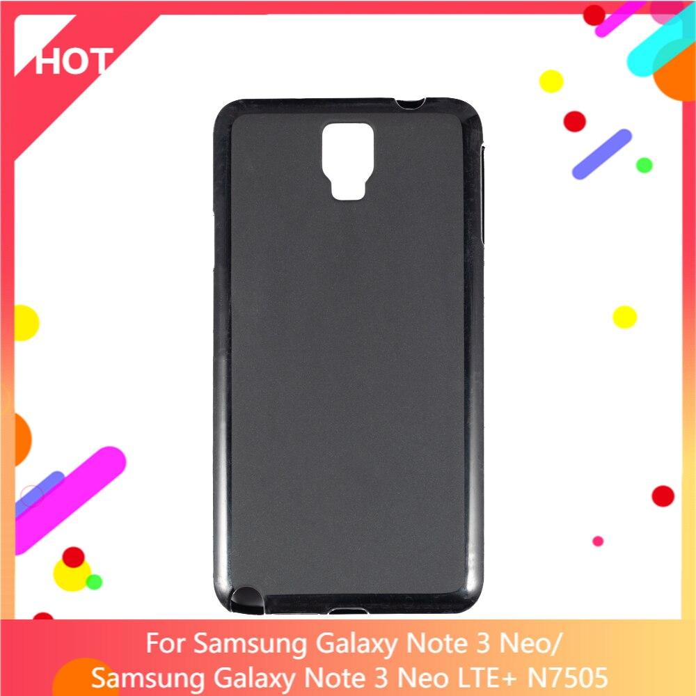 Funda trasera de silicona suave mate para Samsung Galaxy Note 3 Neo,...