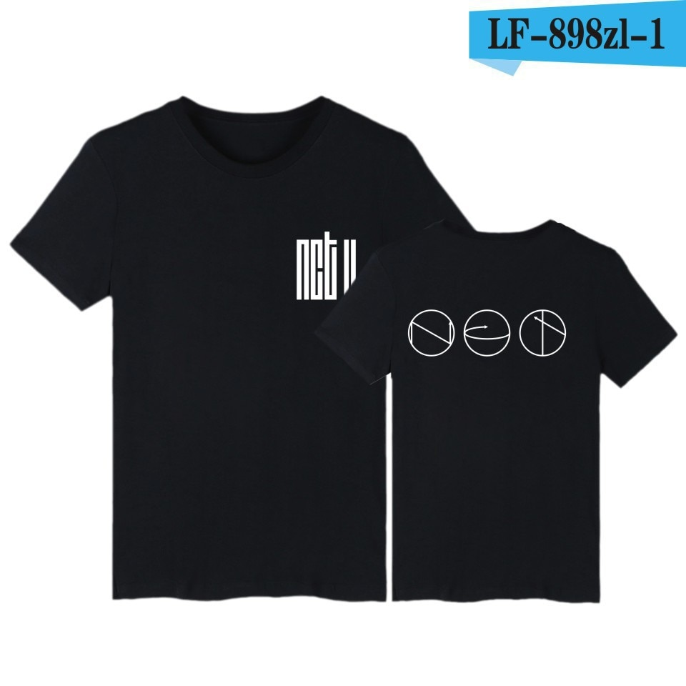 Ropa de viernes NCT Camiseta de manga corta nuevo estilo NCTU Lee tai yong diez productos relacionados con estilo famoso