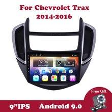 Android 9.0 IPS autoradio stéréo lecteur multimédia unité principale pour Holden Chevrolet Trax Tracker 2014 2015 2016 2din 9 pouces WIFI
