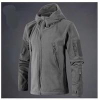 military tactical outdoor soft shell fleece jacket men army polartec sportswear jacket free people