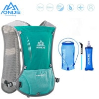 Рюкзак AONIJIE E913S 5L с гидратацией, жилет с мягкой колбой, с водным пузырьком, для походов, бега, марафона