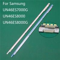 New LED TV Illumination Part Replacement For Samsung UN46ES8000 UN46ES7000G UN46ES8000G LED Bars Backlight Strip 2 Line Rulers