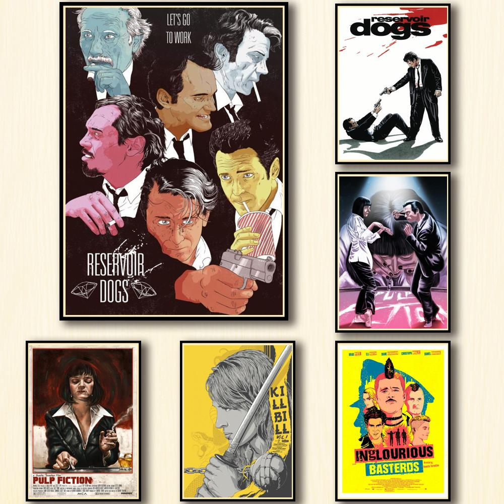 44-designs-quentin-tarantino-movie-whitepaper-poster-painting-abstract-funny-fancy-wall-sticker-for-coffee-house-bar-2