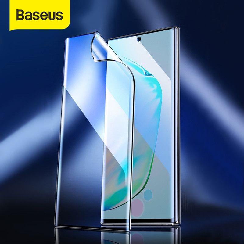 2 películas protectoras de pantalla completa Baseus de 0,15mm para Samsung Galaxy Note 10 Note 10 Plus, película protectora para Note 10 Plus Glass