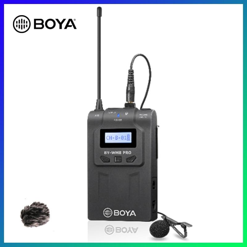 Kit de micrófono transmisor inalámbrico BOYA TX8 Pro, micrófono Digital para cuerpo, 100m, sistema UHF, micrófono Lavalier para receptor RX8 Pro SP-RX8 Pro